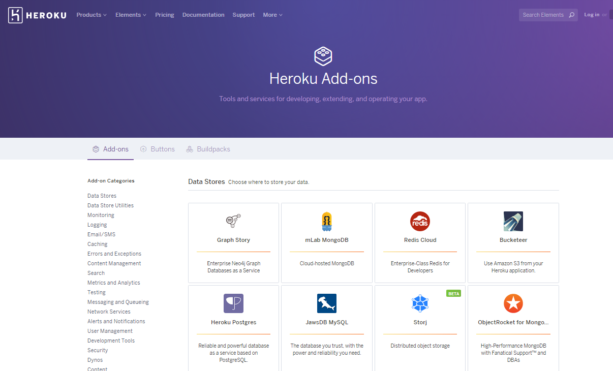 Top 9 NoSQL cloud platforms to store your data Heroku
