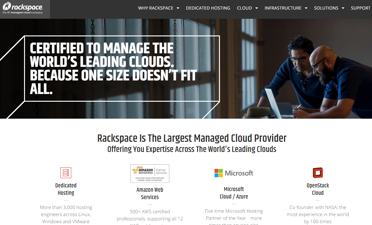 Top 9 NoSQL cloud platforms to store your data Rackspace
