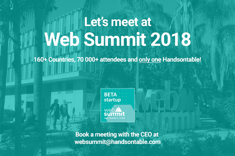 Let's Meet at Web Summit 2018