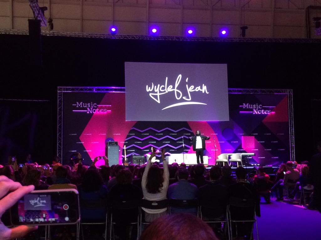 Wyclef Jean at Web Summit 2017