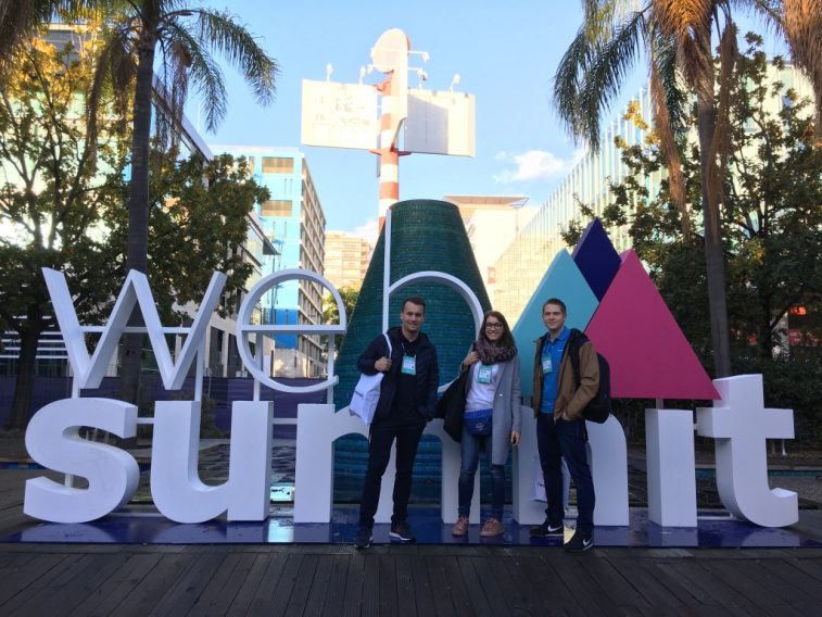 Handsontable at Web Summit 2018