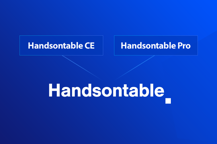 Handsontable drops open source for a non-commercial license