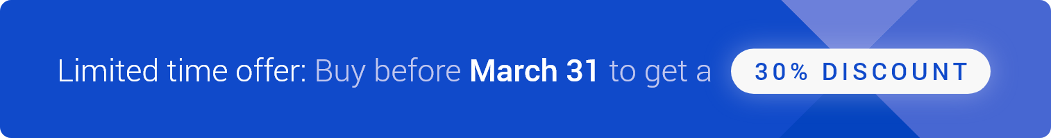 Buy Spreadsheet Viewer before March 31 to get a 30% discount