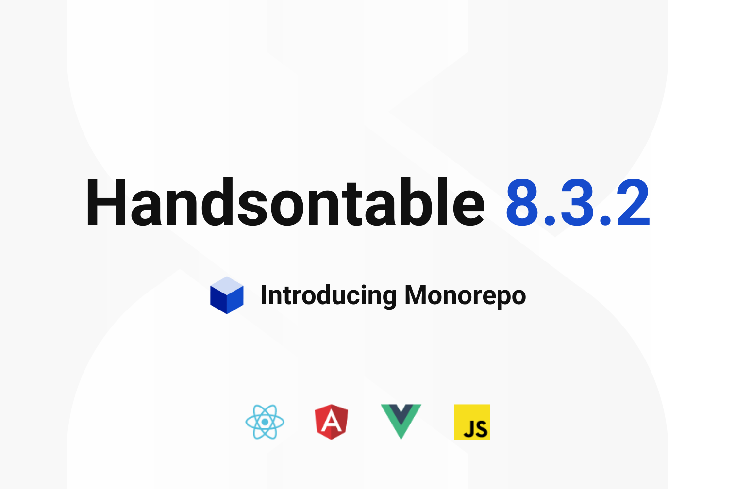Handsontable 8.3.2 release