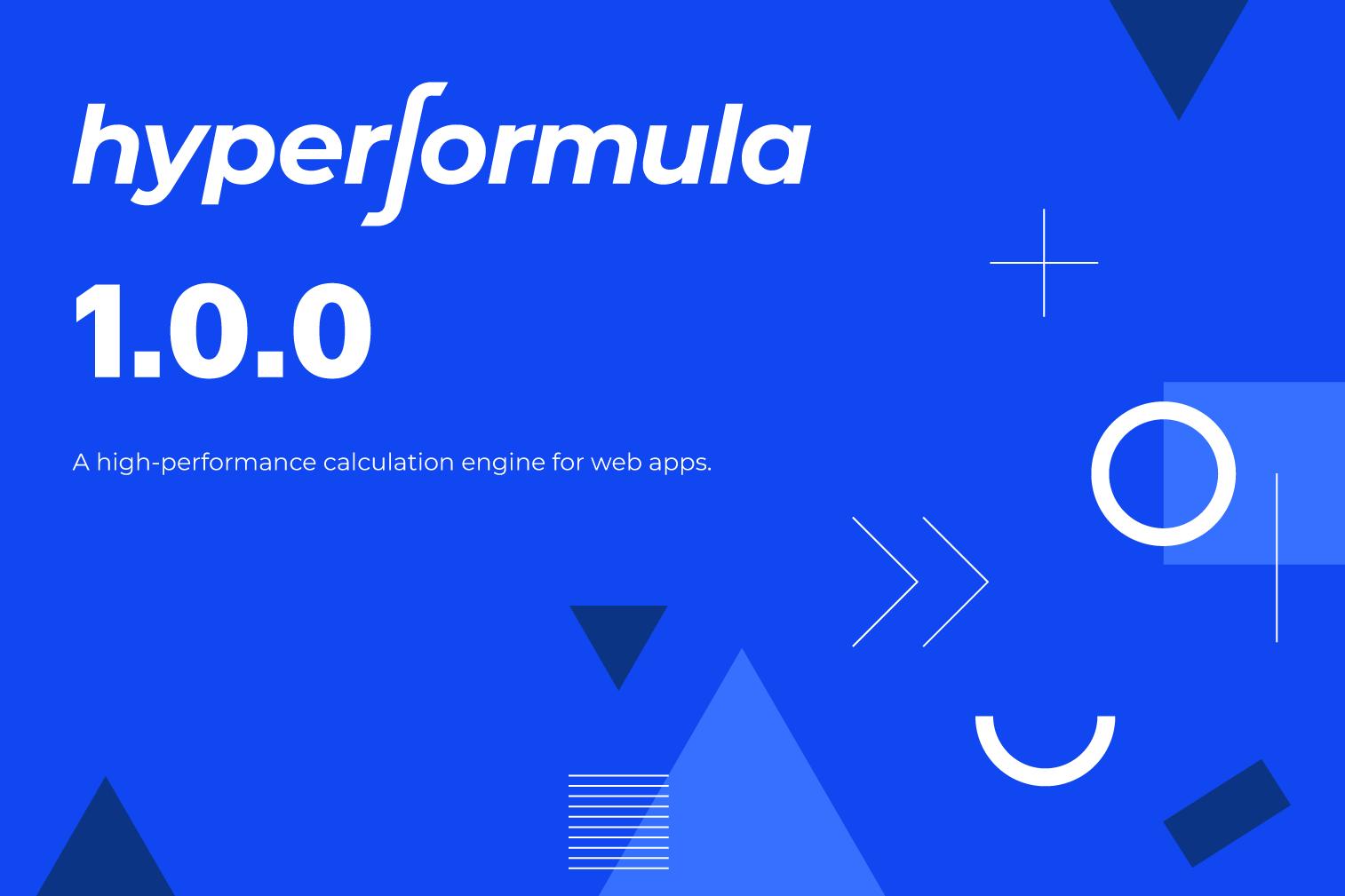 Hyperformula 1.0.0 release illustration