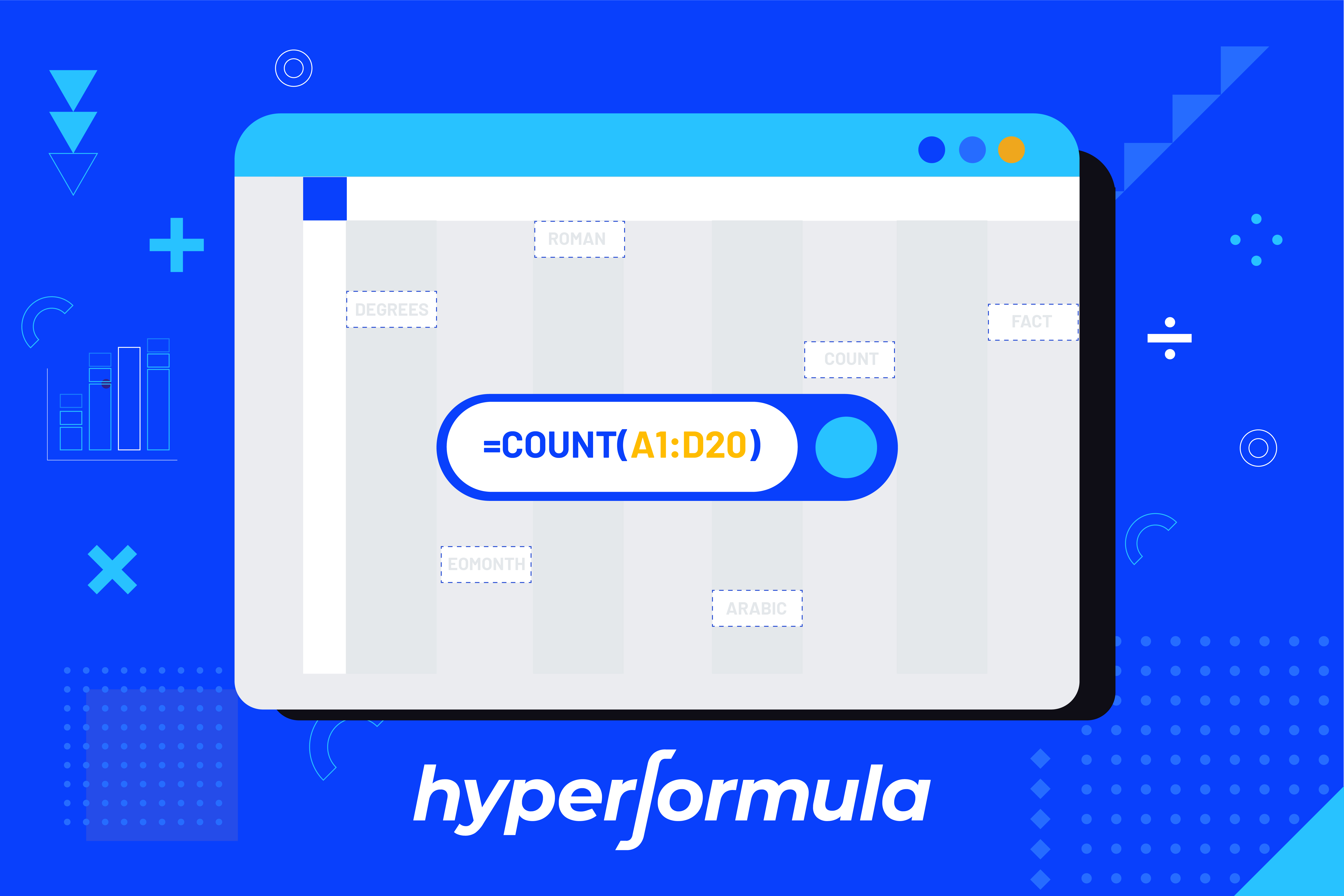 8 examples of useful excel functions in HyperFormula