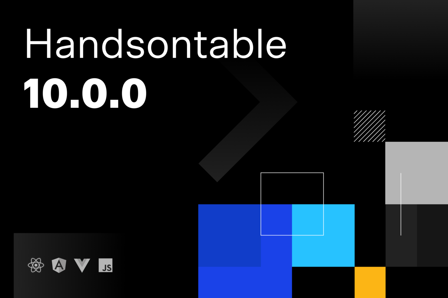 Handsontable 10.0.0: improved performance and consistency